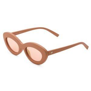 Le Specs 50mm Fluxus Oval Sunglasses